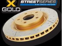 Тормозной диск DBA Street X/Drilled Slot передний для Toyota FJ 06-10/FJ 10+ 319/67,5/28/108 mm 6*139,7-DBA2716X