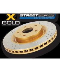Тормозной диск DBA Street X/Drilled Slot передний для Toyota TLC150/FJ 10+ 338/68,5/32/108 mm 6*139,7-DBA2736X