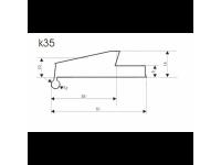 Расширители арок резиновые K35-BZD3