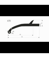 Расширители арок резиновые K50-BZD4