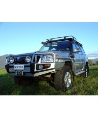 Выносной воздухозаборник (Шноркель) для Nissan Patrol Y61 (9/04 onwards) 4.8 бензин-SS18HF