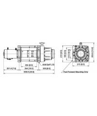 Лебедка COMEUP Seal Gen2 16,5 12V 7484 кг 295615-COMEUP295615