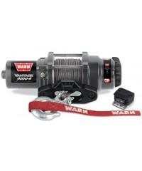 Лебедка WARN Vantage 3000-s, 12V, 15 м синтет. троса, клюз, 1361 кг-91031