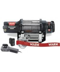 Лебедка WARN Vantage 4000, 12V, 15 м, ролики, 1814 кг + проводной пульт 3,7 метра-89040