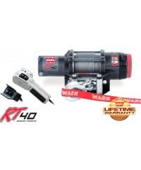 Лебедка WARN RT40 12V, 16,8 м, ролики, 1800 кг-77000