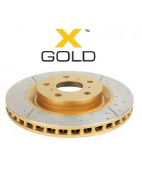 Тормозной диск DBA GOLD передний для Toyota TLC120 338/68/28/108 mm 6*139,7-DBA2700X