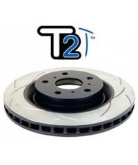 Тормозной диск DBA 4X4 Survival T2 Slot передний для Toyota FJ 06-10/FJ 10+ 319/67,5/28/108 mm 6*139,7-DBA2716S