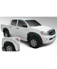 Расширители крыльев для Toyota Hilux Aeroklas ABS Double Cab (2012 МОДЕЛЬНЫЙ ГОД!!!) под покраску-aeroklas16