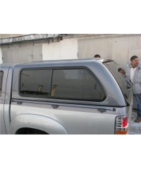 Пластиковая кабина (Кунг) для MAZDA BT50/FORD RANGER D/C 2006- Aeroklas Twin Sheet ABS Canopy (modell Lux) Double Cab-aeroklas24
