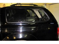 Пластиковая кабина (Кунг) для NISSAN NP300 (длинная база) D/C 2009- Aeroklas FIBERGLAS Canopy (modell Lux) Double Cab-aeroklas25