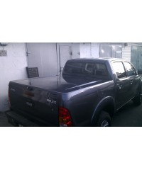 Пластиковая крышка для NISSAN NAVARA D40 D/C 2007- Aeroklas Twin ABS Sheet Deck Cover SPEED Double Cab (под покраску)-aeroklas26
