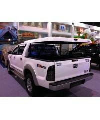 Пластиковая крышка для NISSAN NAVARA D40 D/C 2007- Aeroklas Twin ABS Sheet Deck Cover AVIATOR с электромотором Double Cab (под покраску)-aeroklas27