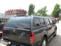 Пластиковая кабина (Кунг) для NISSAN NAVARA D40 D/C 2007- Aeroklas Twin Sheet ABS Canopy (modell Lux) Double Cab-aeroklas28