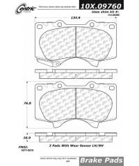 Тормозные колодки передние керамика PosiQuiet-105.09760
