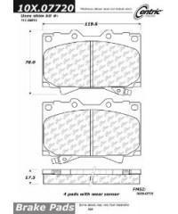 Тормозные колодки передние керамика PosiQuiet-105.07720