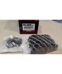 Тормозные колодки задние керамика PosiQuiet-105.13040