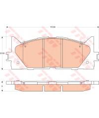 Тормозные колодки передние PowerStop Z-16 керамика-16-1293