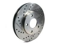 Тормозной диск передний левый StopTech слот-227.44079L