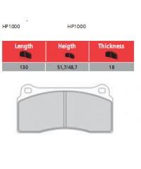 Колодки тормозные задние Brembo GTR Racing-207.4865.80