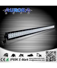 ALO-40-P4E4A Фары LED Off-Road AURORA с крышкой, Диоды 3W, два ряда, AR optics, AMBER-ALO-40-P4E4A