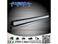 ALO-50-P4E4A Фары LED Off-Road AURORA с крышкой, Диоды 3W*100шт , два ряда,комбинированный свет AMBER 1750м-ALO-50-P4E4A
